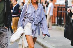 There's absolutely nothing wrong with buying a shirt that's three times too big. #refinery29 http://www.refinery29.com/style-anti-resolutions-2016#slide-5