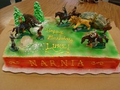 Chronicles of Narnia Cake