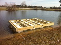 Guidance for building a floating dock   Property Projects & Construction   Pond Boss Forum