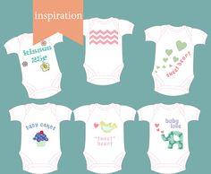 Printable Baby Onesie Applique Inspirations