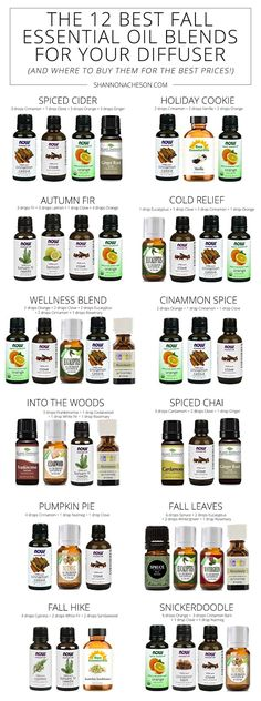 12 of the Best Fall Essential Oil Blends For Your Diffuser I LOVE the smell of fall & I prefer essential oils in a diffuser over a candle or plugin. Here are the Best Fall Essential Oil Blends For Your Diffuser. Fall Essential Oils, Essential Oil Candles, Essential Oil Diffuser Blends, Diy Diffuser Oil, Best Diffuser, Essential Oil Perfume, Perfume Oils, Essential Oils For Christmas, Essential Oil For Cleaning