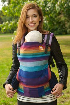 Girasol Mystic Rainbow Azul Capitan TULA BABY CARRIER