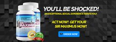 Visit this site http://sex-pills.co/sirmaximus/ for more information on Male Extender Pills. Natural Male Extender Pills contain ingredients that work on your overall sexual health. These ingredients help to increase your libido, strengthen your erections so that that your penis becomes harder and it increases your sexual stamina so that you can last longer in bed and give you more powerful orgasms.