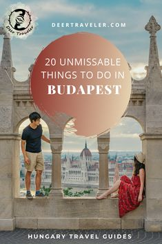 Are you planning a weekend trip to Budapest? Don't miss these 20 things to do in the capital of Hungary! Plan your trip according to this guide. | Best things to do in Budapest | Weekend getaway Budapest, Hungary | Unique things to do and see in Budapest | #budapest #hungary #visithungary #visitbudapest #hun #magyar #europe #travel #travelhungary #travelbudapest #thingstodo #travelblog European Travel Tips, European Vacation, Europe Travel Guide, European Destination, Travel Guides, Travel Destinations, European Trips, Travelling Europe, Budapest Things To Do In