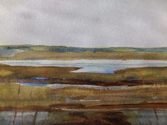 Gerd Johnsson Latham Stora Äng #akvarell #watercolour