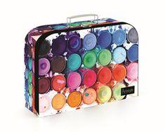 Dětský kufřík lamino 34 cm - Barvy - SEVT.cz Suitcase, Suitcases, Briefcase