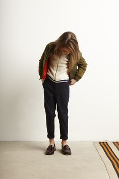 Lookbook Bellerose Kids collection FW'16 / Jacket Luck - Knitwear Umba - T-shirt Mogani - Pants Lalia62