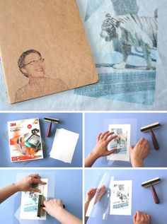 Awesome DIY Image Transfer ProjectsTransferring photos onto just about any surface such as wood, metal, glass, terra cotta and even fabric has become a popular craft projects. Canvas Photo Transfer, Mod Podge Photo Transfer, Wood Transfer, Transfer Paper, Photo Projects, Craft Projects, Crafts To Make, Home Crafts, Diy Image