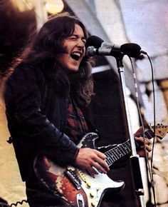 Rory Gallagher such an underappreciated guitarist, the man should be in the rock and roll hall of fame!