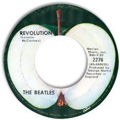 The Beatles -- Hey Jude/ Revolution [Apple 45 Records, Vinyl Records, John Lennon Beatles, The Beatles, Eighties Music, Crosby Stills & Nash, Apple Records, Dodge Super Bee, Lennon And Mccartney