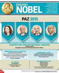 Conoce a los ganadores del #PremioNobelDelaPaz 2015. #Infographic