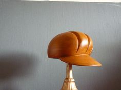 Millinery wooden hat block/ form