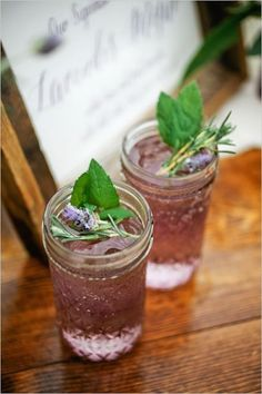 This Lavender Mojito is perfect for spring.
