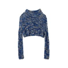 New York Sea (SEA NEW YORK) - Sweaters - Search fashion catalog 3320 |... ❤ liked on Polyvore featuring tops, sweaters, jumpers, shirts, blue shirt, jumper shirt, blue jumper, blue sweater and shirt top