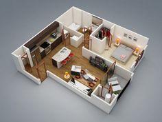Modern-1-Bedroom-600x450