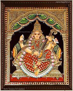 Original hand made tanjore paintings Rangoli Side Designs, Online Art Store, Tanjore Painting, Mysore Painting, Pichwai Paintings, Hindu Art, Indian Art, Indian Gods, Online Painting
