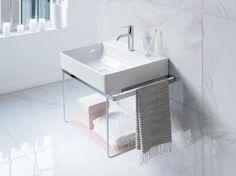 DURASQUARE   Console washbasin DuraSquare Series By DURAVIT