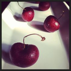 A #creative take on #Cherry- #chefs #favourite #ingredient, All the way from #drunkencream #kitchen..Don't you like?
