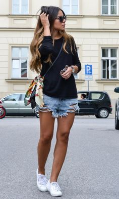Moda it - Look Destroyed Jeans: Shorts | Moda it
