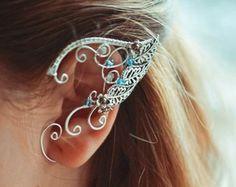 Orejas de elfo elfos de puños de oído por BeautyCreek en Etsy