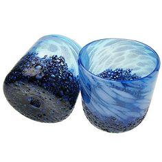 Amazon.co.jp: 琉球ガラス/コバルトロックグラス 2個箱入: ホーム&キッチン