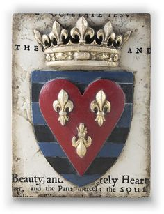 Armour tile by artist Sid Dickens out of Vancouver Canada. Memory Blocks are hand crafted plaster, finished to a porcelain-like quality, cracked to create an aged look and feel.