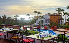 Aldiana Alcaidesa, Costa del Sol, Spanien © Carina Krottmair / Restplatzbörse Hotels, Mansions, House Styles, Home Decor, Sun, Travel, Last Minute Vacation, Mansion Houses, Homemade Home Decor