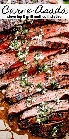 atkins meals This tender Carne Asada recipe is flavorful and proof that sometimes all you need is a few simple ingredients to make a delicious meal! Grilling Recipes, Meat Recipes, Mexican Food Recipes, Dinner Recipes, Cooking Recipes, Water Recipes, Mexican Steak Recipe, Mexican Steak Marinade, Mexican Desserts