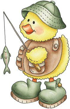 Fishing Ducky