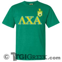 TGI Greek - Lambda Chi Alpha - Comfort Colors - Greek T-shirts #TGIGreek #LambdaChiAlpha