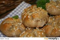 Celozrnné housky/ výborné - My site Slovak Recipes, Russian Recipes, Bread And Pastries, Bread Rolls, Graham, Food And Drink, Low Carb, Yummy Food, Homemade