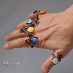 Hey, I found this really awesome Etsy listing at https://www.etsy.com/uk/listing/285623179/wire-ring-adjustable-ring-wire-jewelry