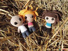 Mini Buddies: little boys and girls from AhookAmigurumi | 2000 Free Amigurumi Patterns