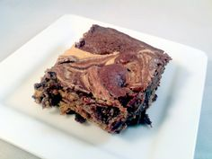 Peanut Butter Brownies  from Cooking With My Food Storage.  Made from a DIY mix.