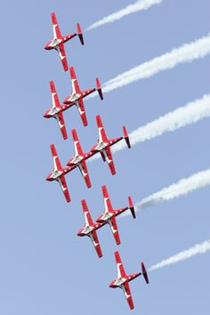 The Snowbirds- The Snowbirds Demonstration Team Squadron) is comprised of serving members of Canadian Armed Forces who perform across Canada. Aerial Acrobatics, Canadian Army, Canada 150, True North, Cool Countries, Air Show, Newfoundland, Armed Forces, Homeland