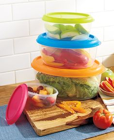 8-Pc. Jumbo Bright Storage Bowl Set