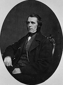 William McDougall. My great great grandfather. A father of confederation, and  Lieutenant Governor of Rupert's Land.
