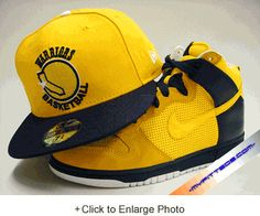 G.S. Warriors Yellow/Lt. Navy Fitted Cap