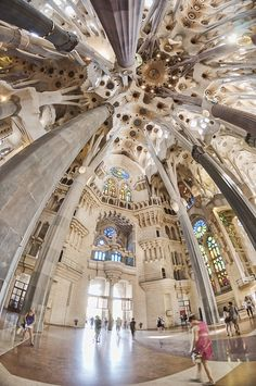 Sagrada Família, BarcelonaWELCOME TO SPAIN! FANTASTIC TOURS AND TRIPS ALL AROUND BARCELONA DURING THE WHOLE YEAR, FOR ALL KINDS OF PREFERENCES.  https://www.facebook.com/pages/Barcelona-Land/603298383116598?ref=hl