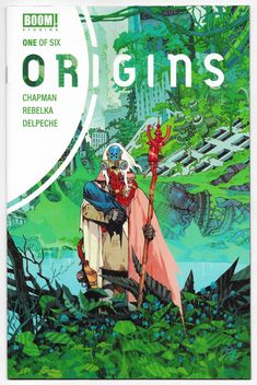 $3.99 Origins #1 Cvr A Rebelka (Boom, 2020) NM Sold By: Imagine That! Comics * A thousand years after humans are killed off by artificial intelligence, one man is brought back to life - David Adams, who created the technology that destroyed his people. * Now with the help of the android Chloe who revived him, David will try to restore humanity - and stop the AI overlords he created. * David embarks on the greatest battle of his life, seeking redemption while also discovering if hum Apocalypse Survival, Post Apocalypse, Age Of Adaline, Sci Fi News, Boom Studios, A Thousand Years, Separation Anxiety, True Nature, The Grim