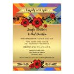 Floral Plaid Elope Post Wedding Party Invitation #weddinginspiration #wedding #weddinginvitions #weddingideas #bride