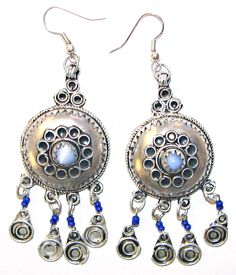 The chunky silver jewellery of the berber craftsman is bold in design  Arabic Jewelry c91f627372709