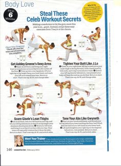 Tracy Anderson US Weekly New Year New Arms | More Tracy anderson ideas