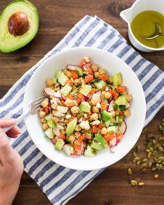 Healthy Bowl: Fresh Chopped Salad