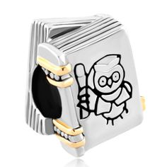 Charms Beads - halloween harry potter fan wise owl magic book graduation beads charms bracelets fit all brands Image. Pandora Beads, Pandora Charms, Pandora Bracelets, Charm Bracelets, Owl Jewelry, Cheap Jewelry, Pandora Graduation Charm, Harry Potter Charms, Halloween Beads