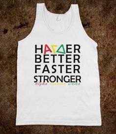 AGD Harder, Better, Faster, Stronger