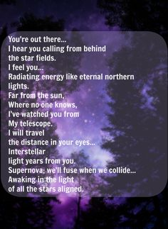 "Starset - Telescope lyrics <3 ""I will travel the distance in your eyes..."""