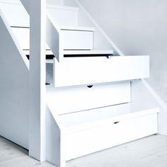 opbevaring i trappen