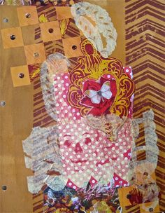 For the pattern exchange. Papel picaco and more collage.