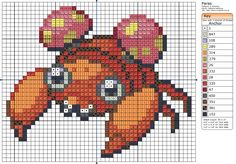 Click the image to enlarge, right click and select Save As to download the pattern. To see what it'll look like stitched, check out what other people have made below. Paras by =behindthesofa on deviantART